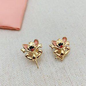 Kate Spade Tom Jerry Stud Earrings